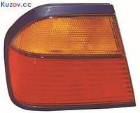 Фонарь задний для Nissan Primera P10 седан '91-96 правый (DEPO) внешний, желтый поворот 215-1973R-UE-RY