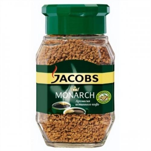 Оригинальный растворимый кофе Jacobs Monarch 190 гр с/б