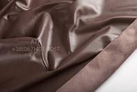 Кожа одежная наппа махагон коричневый 15-0054