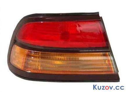 Фонарь задний Nissan Maxima A32 95-00 правый (Depo) внешний, красно-желтый 2655451U25 , фото 2