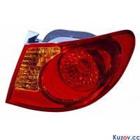 Фонарь задний Hyundai Elantra HD 06-10 правый (Depo) внешний 221-1939R-UE