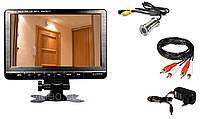 Система видеонаблюдения  - видеоглазок дверной с ТВ монитором 7,6 дюйма