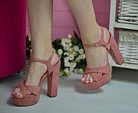 Босоножки на платформе и каблуке, фото 1