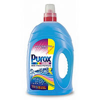 Гeль для стирки  PUROX Color 4 L + 300ml