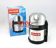 Термос 600мл з нержавіючої сталі з додаткової пластикової чашкою Empire (EM-1566), фото 1