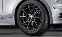 Комплект оригинальных дисков BMW 1 Double Spoke 178 Black