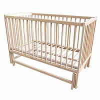 Детская кровать Labona МРИЯ № 3 на шарнирах  (орех). Размер  60х120