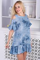 Летнее молодежное платье/вертикальная полоска
