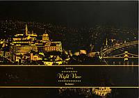 Скретч картина Lago Будапешт (SKR-11) 41х29 см