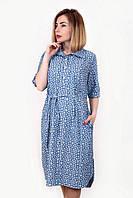 Джинсовое платье-рубашка, фото 1