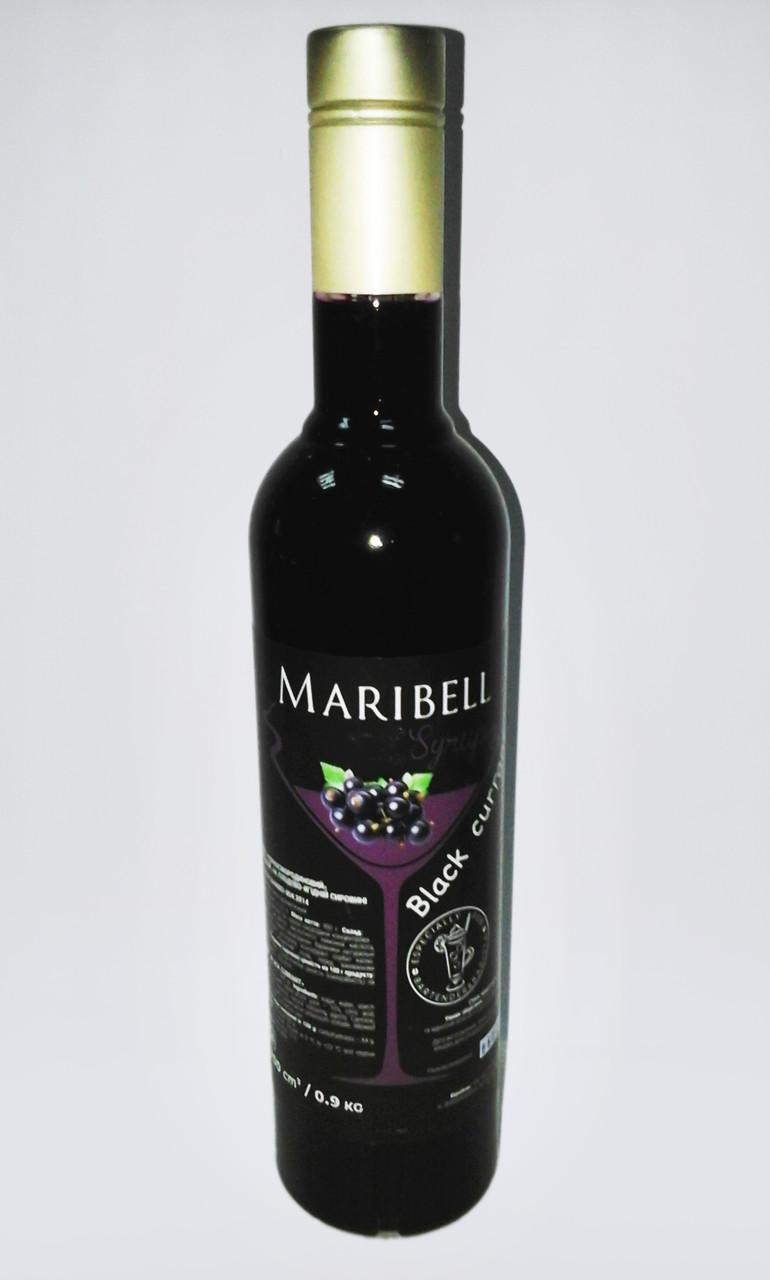 Сироп «Maribell» Черная смородина