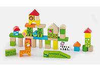 Набор строительных блоков Viga Toys Зоопарк (50286)