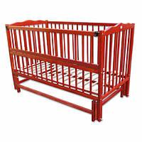 Детская кровать Labona МРИЯ № 3 на шарнирах  (тик). Размер  60х120