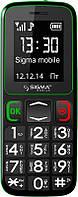 Мобильный телефон Sigma mobile Comfort 50 Mini 3 Black-Green