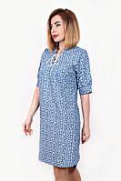 Джинсовое женское платье