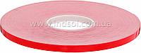 От 4мм до 1000мм\50метров     Белая пеноакриловая лента (Лайнер - красная плёнка ПЕ).