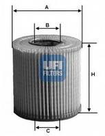 UFI25.001.00 Масляный фильтр