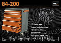 Тележка для инструмента 6 отсеков, NEO 84-200