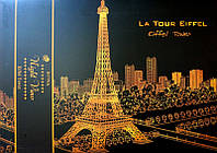 Скретч картина GuoJian Эйфелева башня (SKR-15) 41х29 см