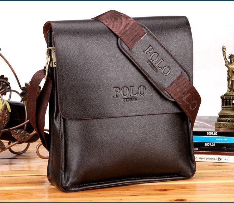 Мужская сумка Polo Videng Big Boss brown