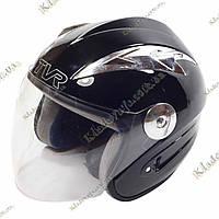 Мото шлем TVR Shredder, ¾, Котелок, Круизер, Чоппер, полулицевик, фото 1