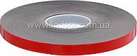 От 4мм до 1000мм\50метров     Черная или серая пеноакриловая лента (Лайнер - красная плёнка ПЕ).