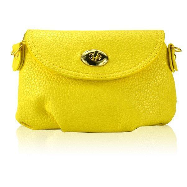 Сумка-клатч женская Финч yellow (желтый)