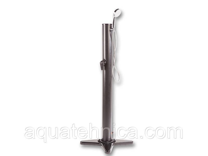 Солнечный передвижной ПВХ душ  Azuro Movable для бассейна - бак 14 литров