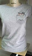 Модная женская футболка 1015 с.т.