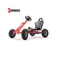 FERBEDO Картинг с педалями ar-1 Красный Насосов.Колеса