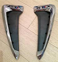 Жабра в крылья BMW F15 M-Perfomance (хром)
