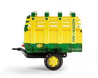 Rolly Toys Прицеп Hay Wagon зеленый