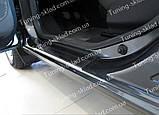 Накладки на пороги Renault Lodgy (накладки порогов Рено Лоджи), фото 2