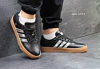 Кроссовки Adidas Adi-Ease Universal ADV мужские черные с серебром