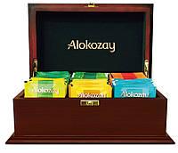 Чай Алокозай в деревянной шкатулке (Маленькая)