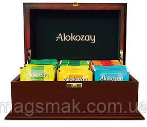 Чай Алокозай в деревянной шкатулке