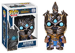 Фигурка Артас Менетил Варкрафт World Of Warcraft Funko Pop #15