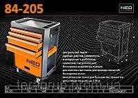 Тележка для инструмента 5 секций, NEO 84-205
