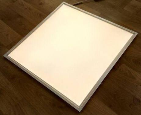 Светодиодная LED панель 32Вт 2300lm 4000К ВСТРАИВАЕМАЯ 60х60см  матовая с алюминием