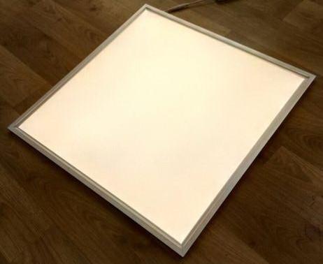 Светодиодная LED панель 32Вт 2300lm 4000К ВСТРАИВАЕМАЯ 60х60см  матовая с алюминием !
