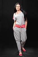 Спортивный костюм женский брюки и футболка, фото 1