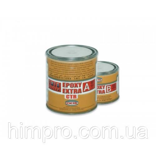 Эпоксидный жидкий морозостойкий клей GENERAL® EPOXY EXTRA CTR прозрачный 1,2кг - МРАМОР в Киеве