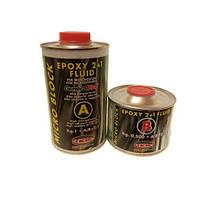 Эпоксидная очень жидкая смола GENERAL® MICRO BLOCK Epoxy 2+1 FLUID прозрачный 1,5кг