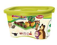 BIG Детский конструктор  Play Bloxx Маша и Медведь