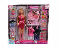 SIMBA Кукла Барби с набором одежды Steffi
