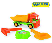 Wader Грузовик  для игры в песочнице + набор