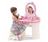Step 2 Игрушечный туалетный столик для девочки со светом и звуком