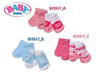 Baby Born Носки для куклы Синие 2р.