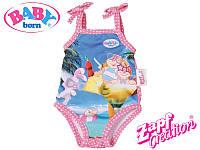 Baby Born Купальник для куклы розовый