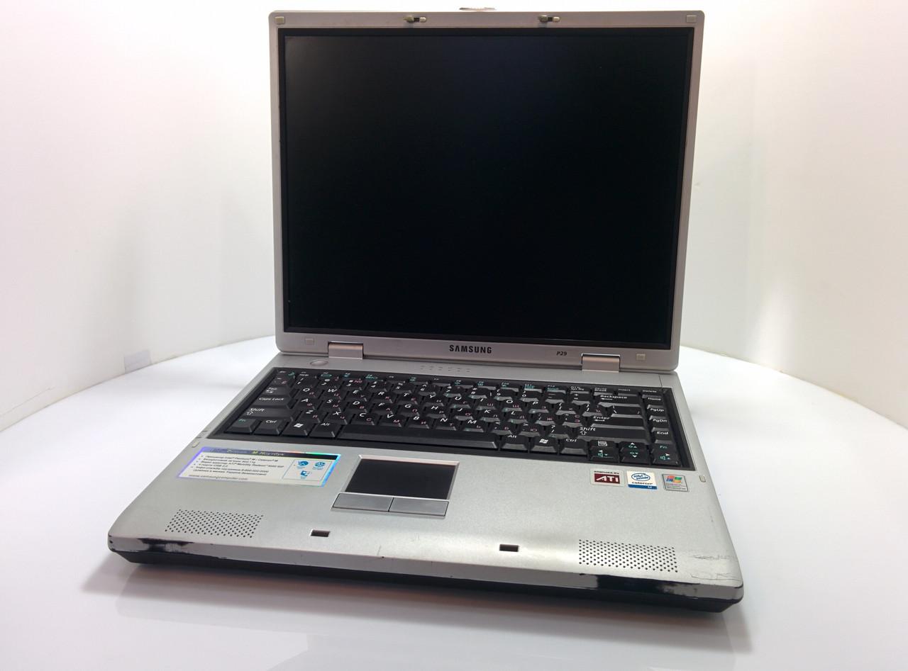 Ноутбук Samsung P29 COM-port 15.0 (1024x768) / Intel Celeron M (1x1.5G